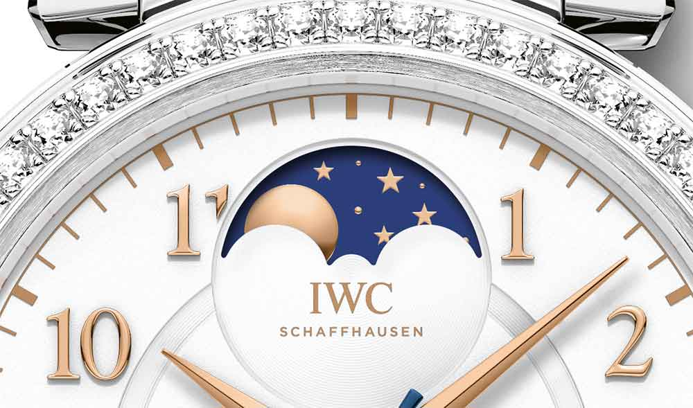 Da Vinci Automatic Moon Phase 36 reference IW459307