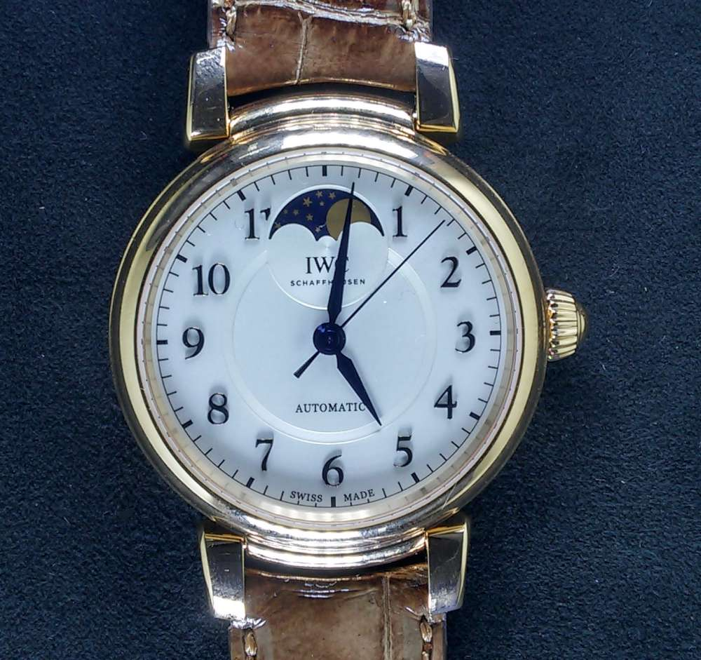 Da Vinci Automatic Moon Phase 36 reference IW459308