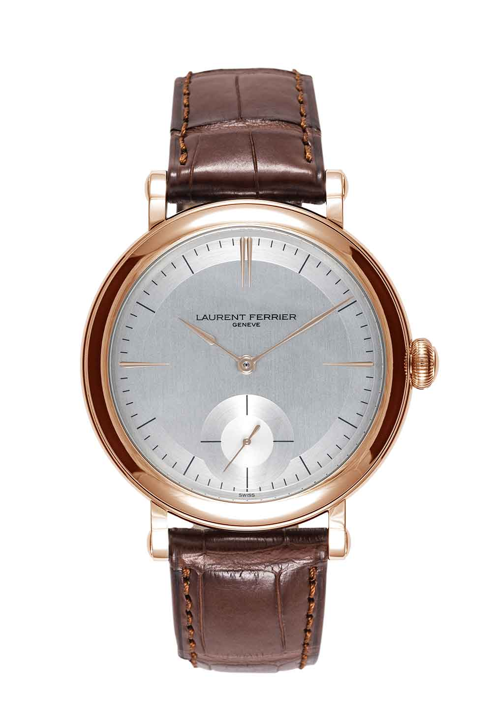 Laurent Ferrier Galet Micro-Rotor Montre Ecole red gold