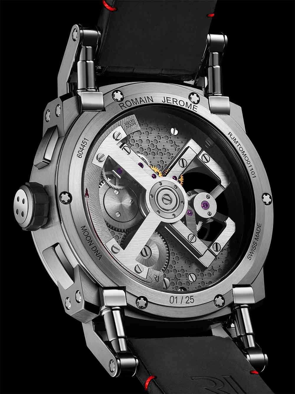 Romain Jerome Moon Orbiter GMT, caseback