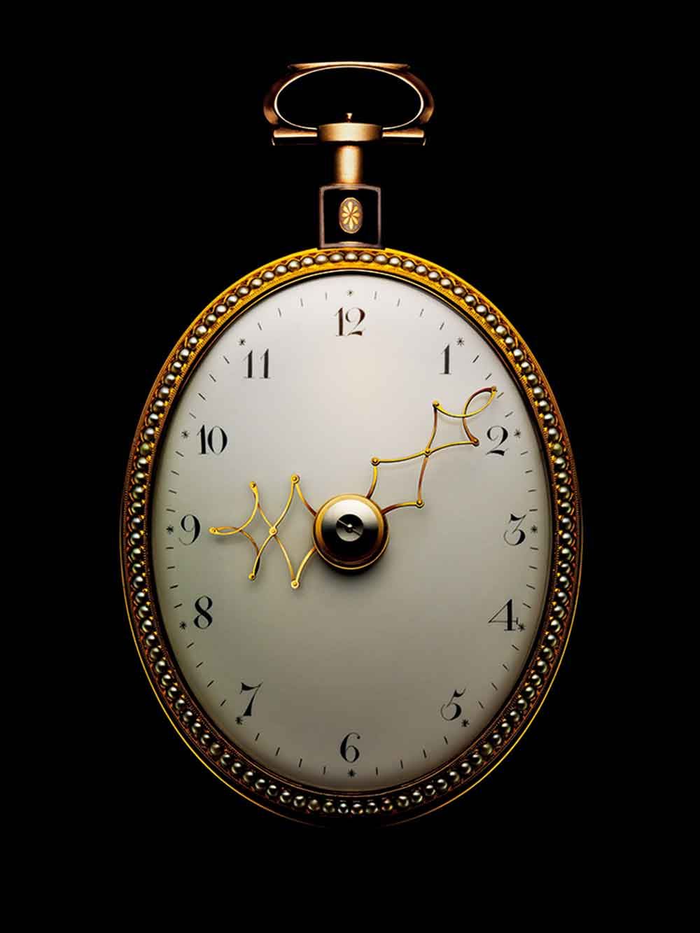 Pantographic pocket watch by Stedman & Vardon, London, about 1790