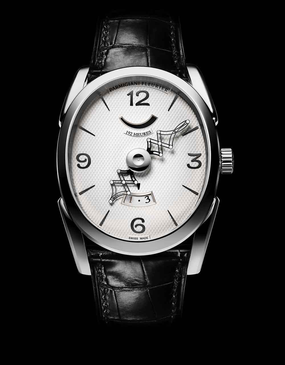 Parmigiani Fleurier Ovale Pantographe Edition Or, reference PFH791-1200100-HA1441