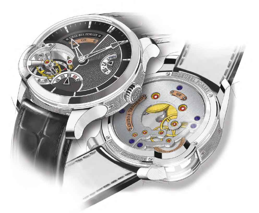 Greubel Forsey Tourbillon 24 Secondes, platinum