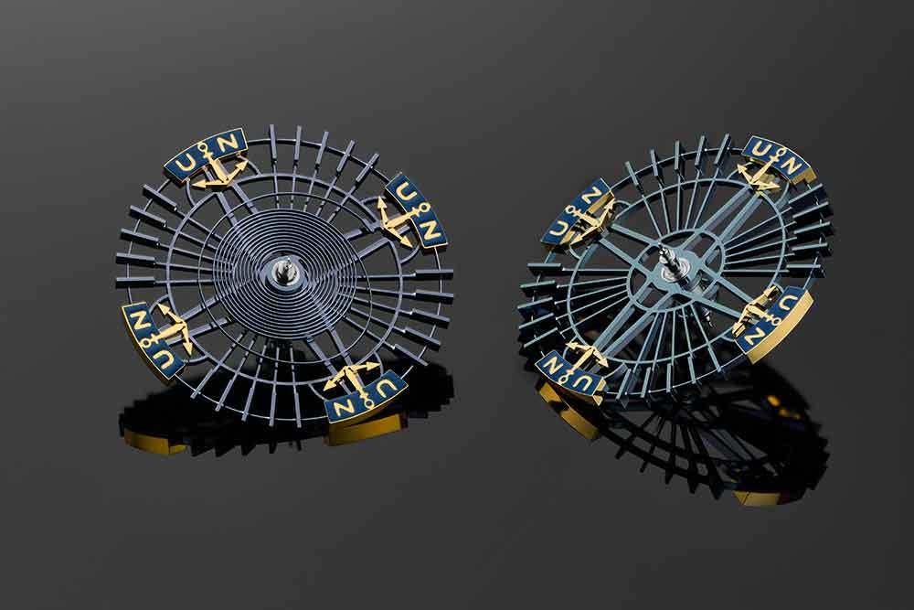 Ulysse Nardin InnoVision 2, silicium balance wheel