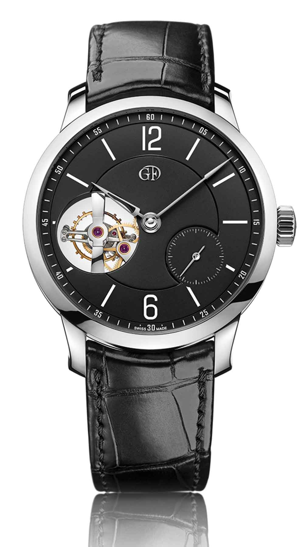 Greubel Forsey Tourbillon 24 Secondes Vision, anthracite