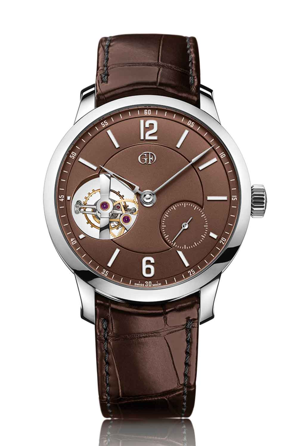 Greubel Forsey Tourbillon 24 Secondes Vision, chocolate