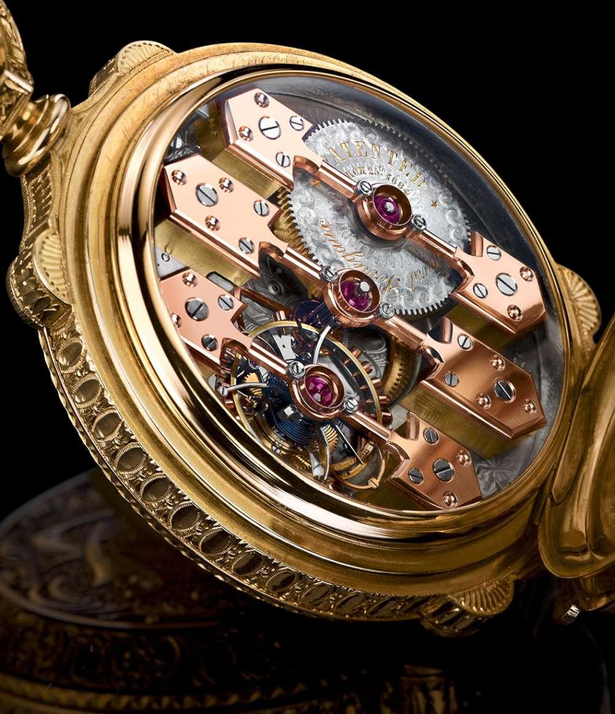 La Esmeralda pocket watch by Constant Girard, 1889