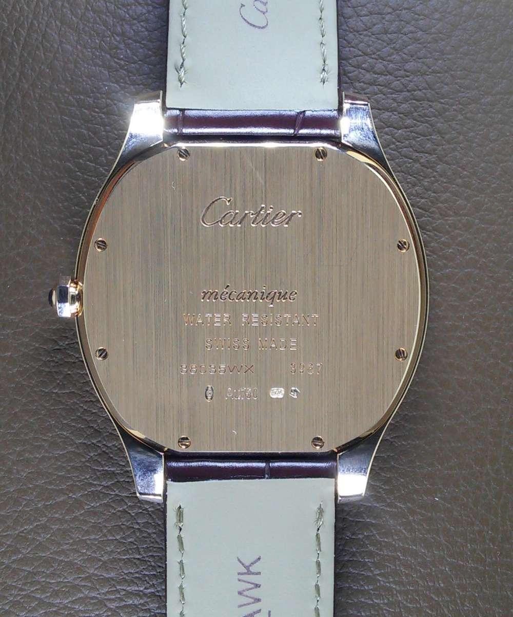 Drive de Cartier Extra Flat caseback