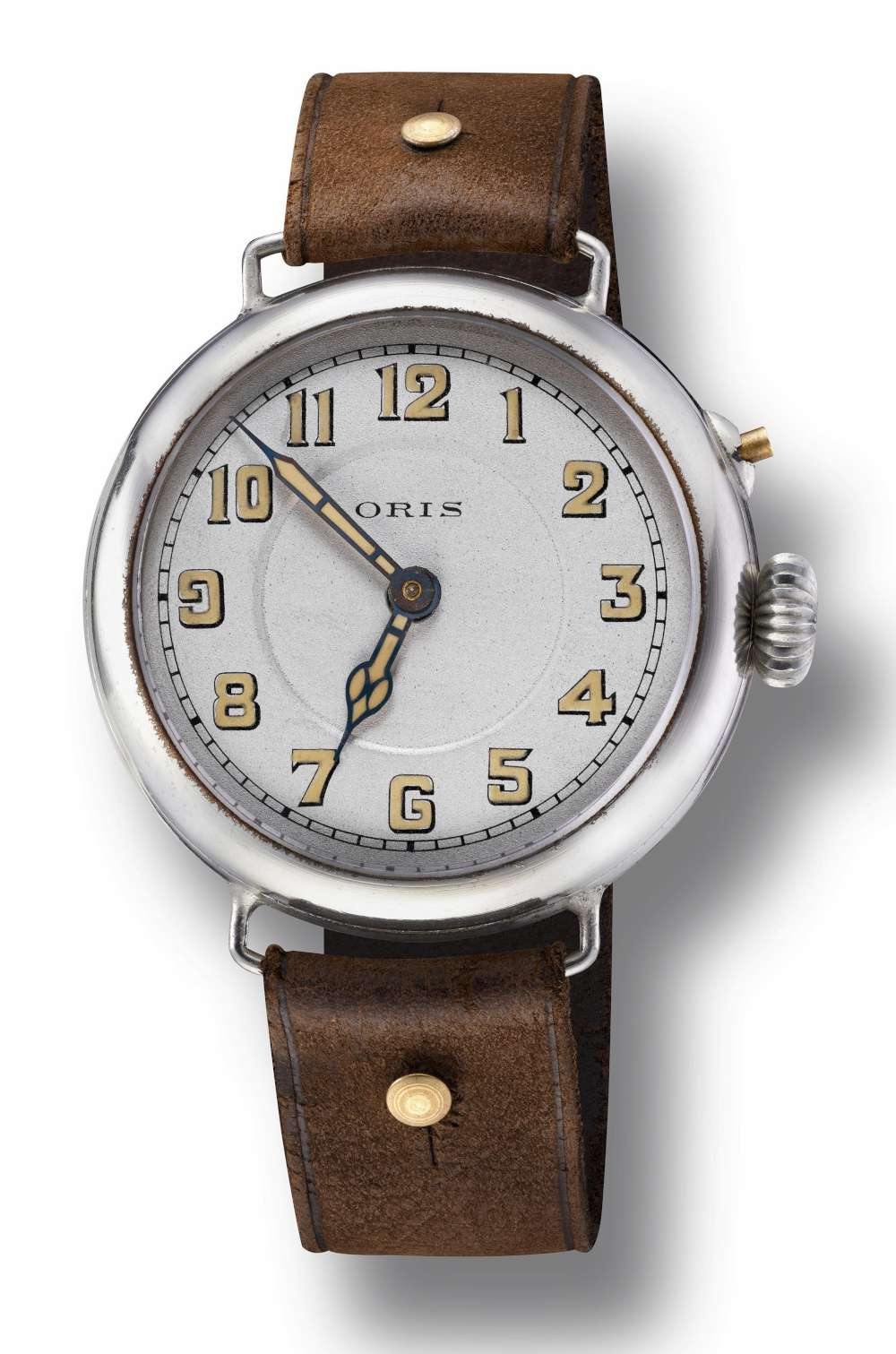 Early pilot's watch by Oris, 1917 circa