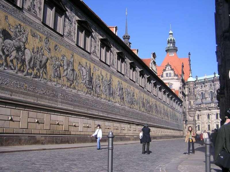 Fürstenzug Procession of Princes, Dresden