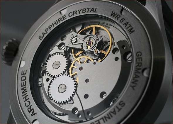 Archimede Pilot HW 42 pilot's watch, SW215 movement