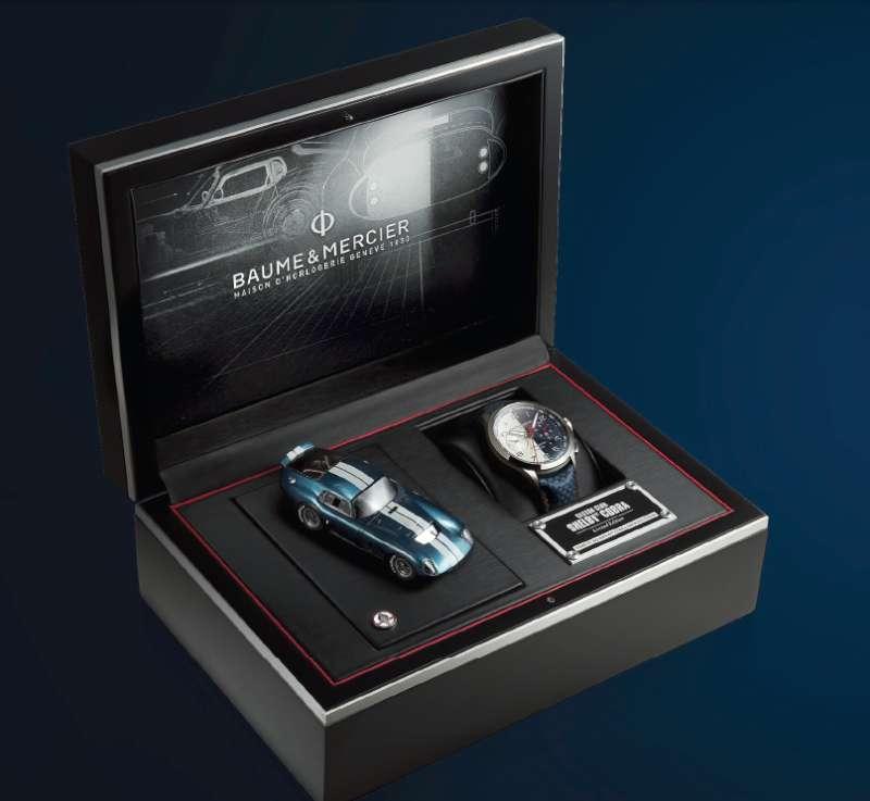 Baume & Mercier Shelby Cobra Limited Edition 10344 presentation case
