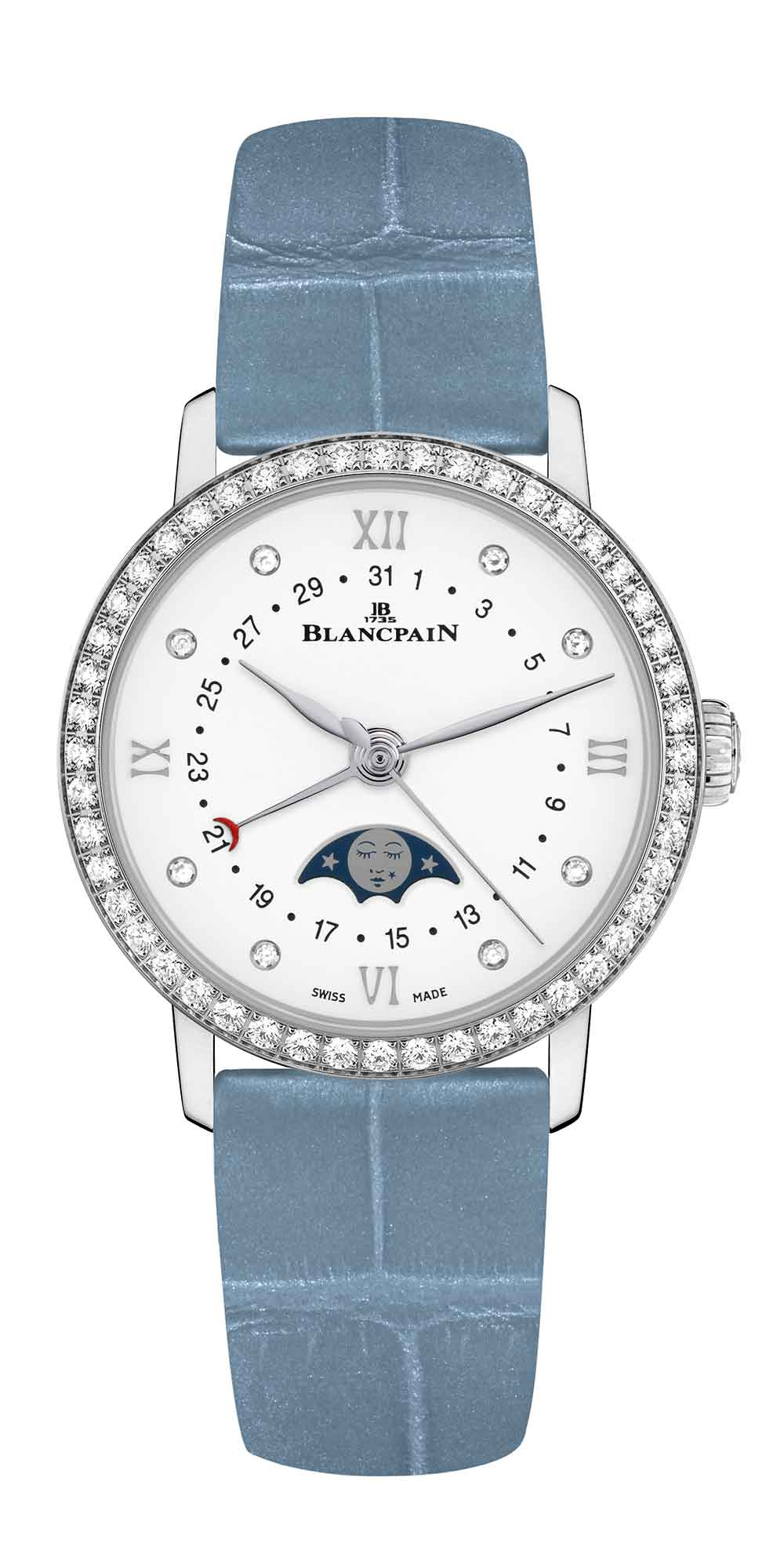 Blancpain Date Moon Phases