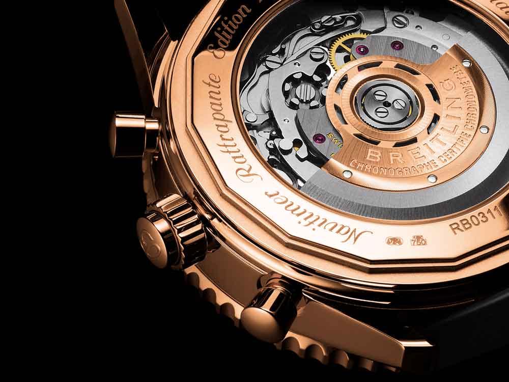 Breitling Navitimer Rattrapante gold