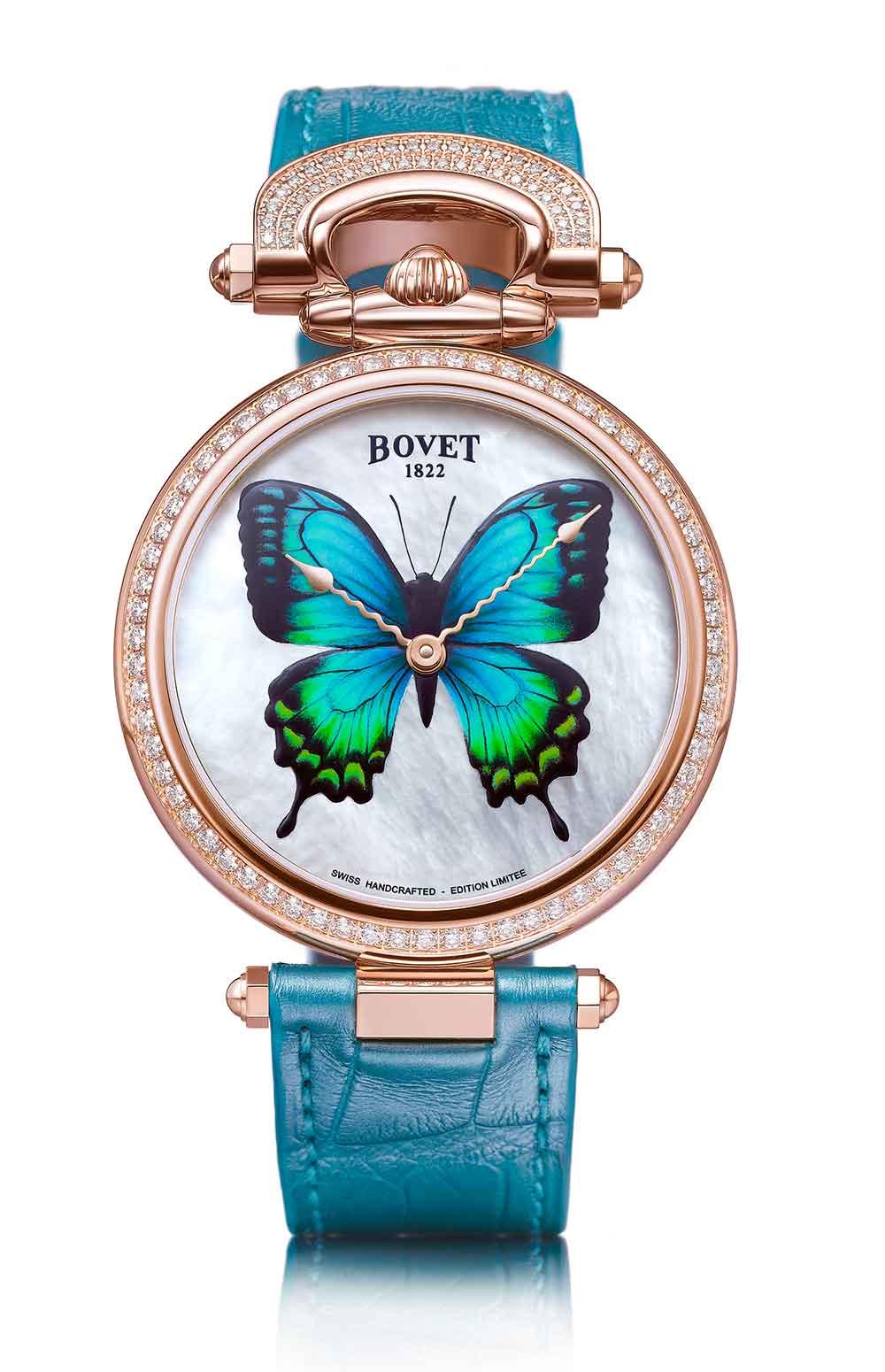 Bovet 1822 Château de Môtiers 40 Papillon