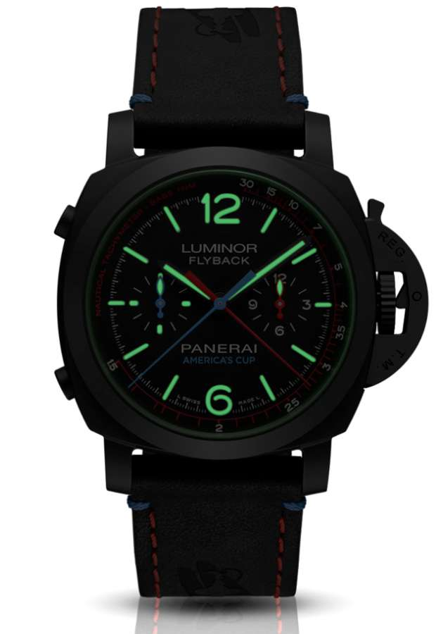 Panerai Luminor 1950 Oracle Team USA 3 Days Chrono Flyback Automatic Ceramica 44 mm PAM00725