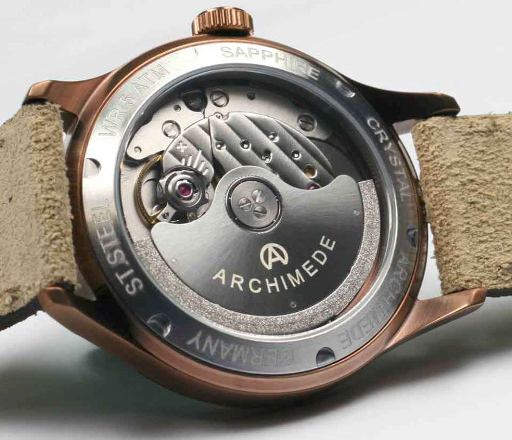 Archimede Klassik 36 BIC dress watch