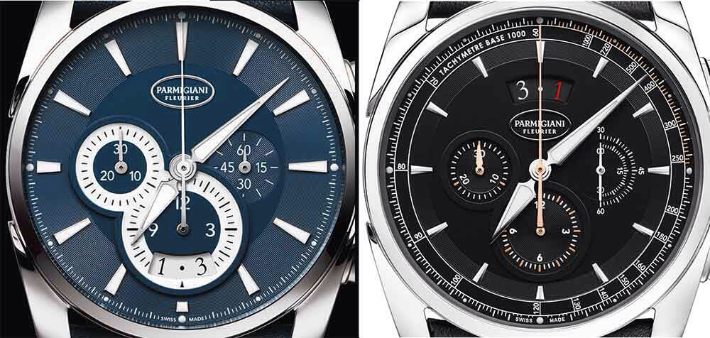 Parmigiani Tonda Métrographe, previous version and 2017 version