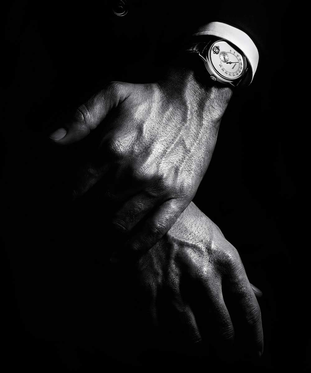 Monsieur de Chanel on wrist