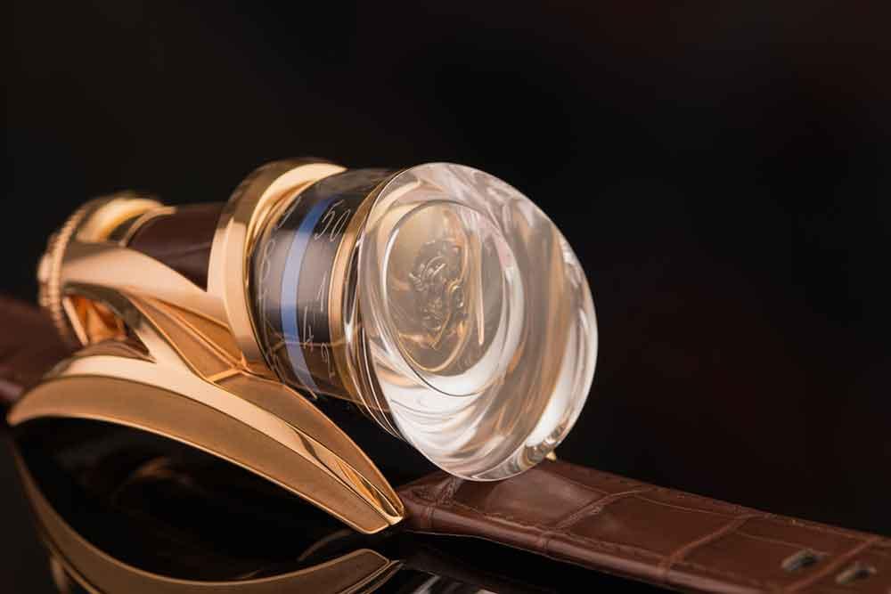 Anura Rafael Write Time pen and tourbillon watch, tourbillon detail
