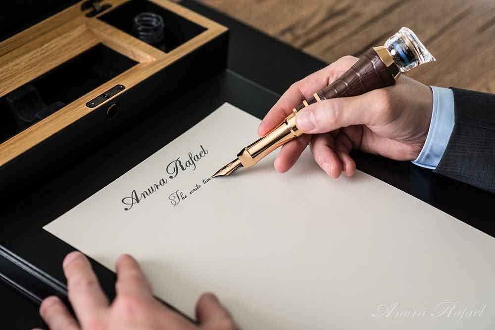 The Write Time by Anura Rafael