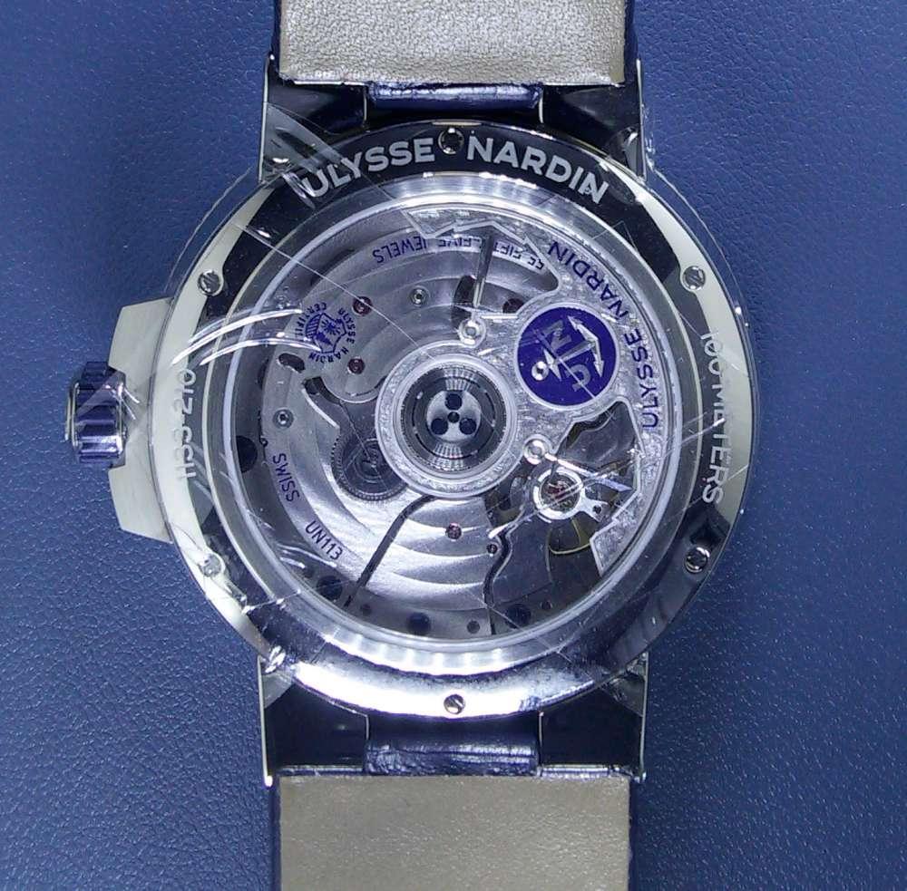 Ulysse Nardin Marine Annual Calendar Chronometer UN-113 calibre