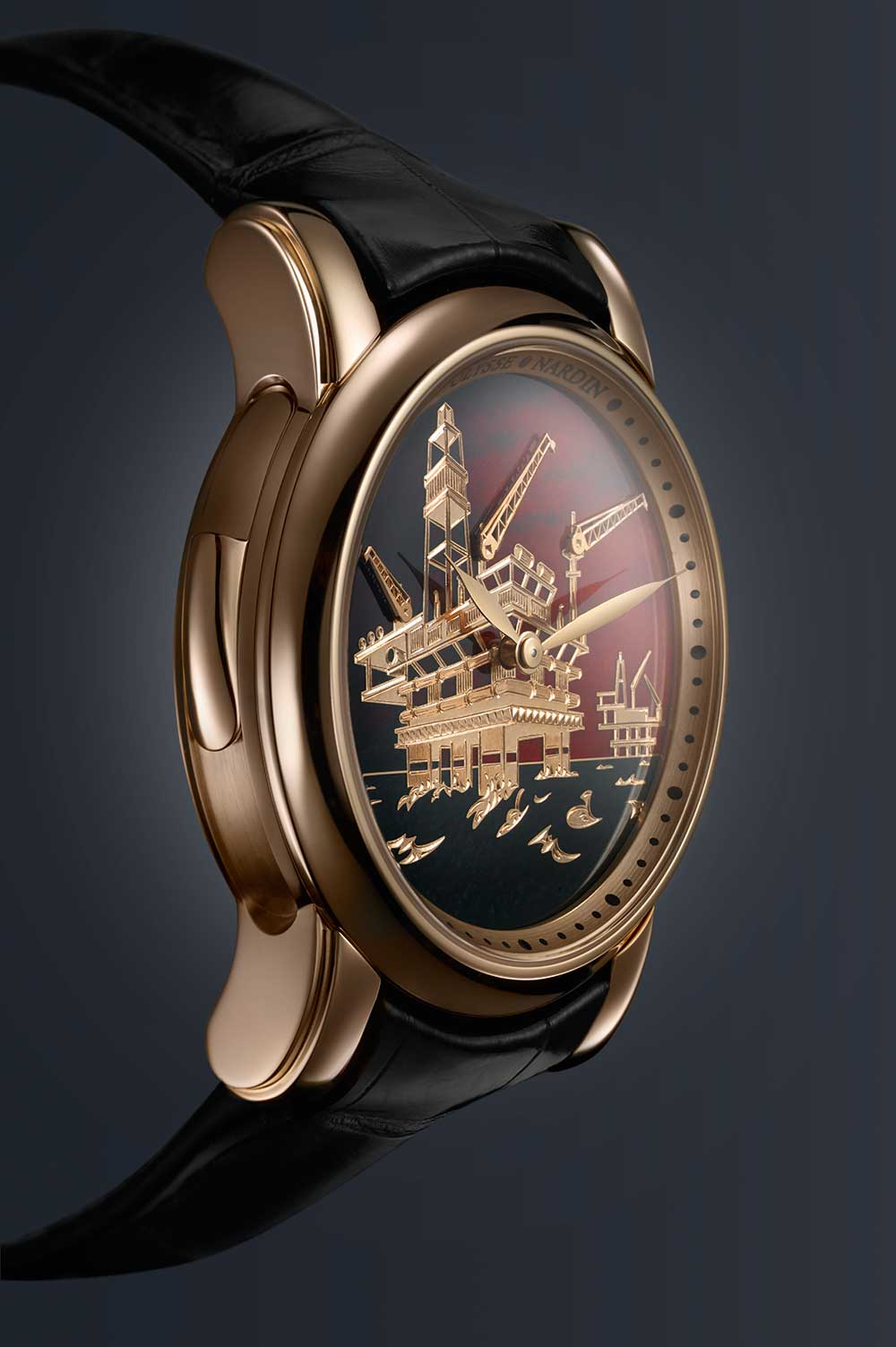 Ulysse Nardin North Sea Minute Repeater gold case