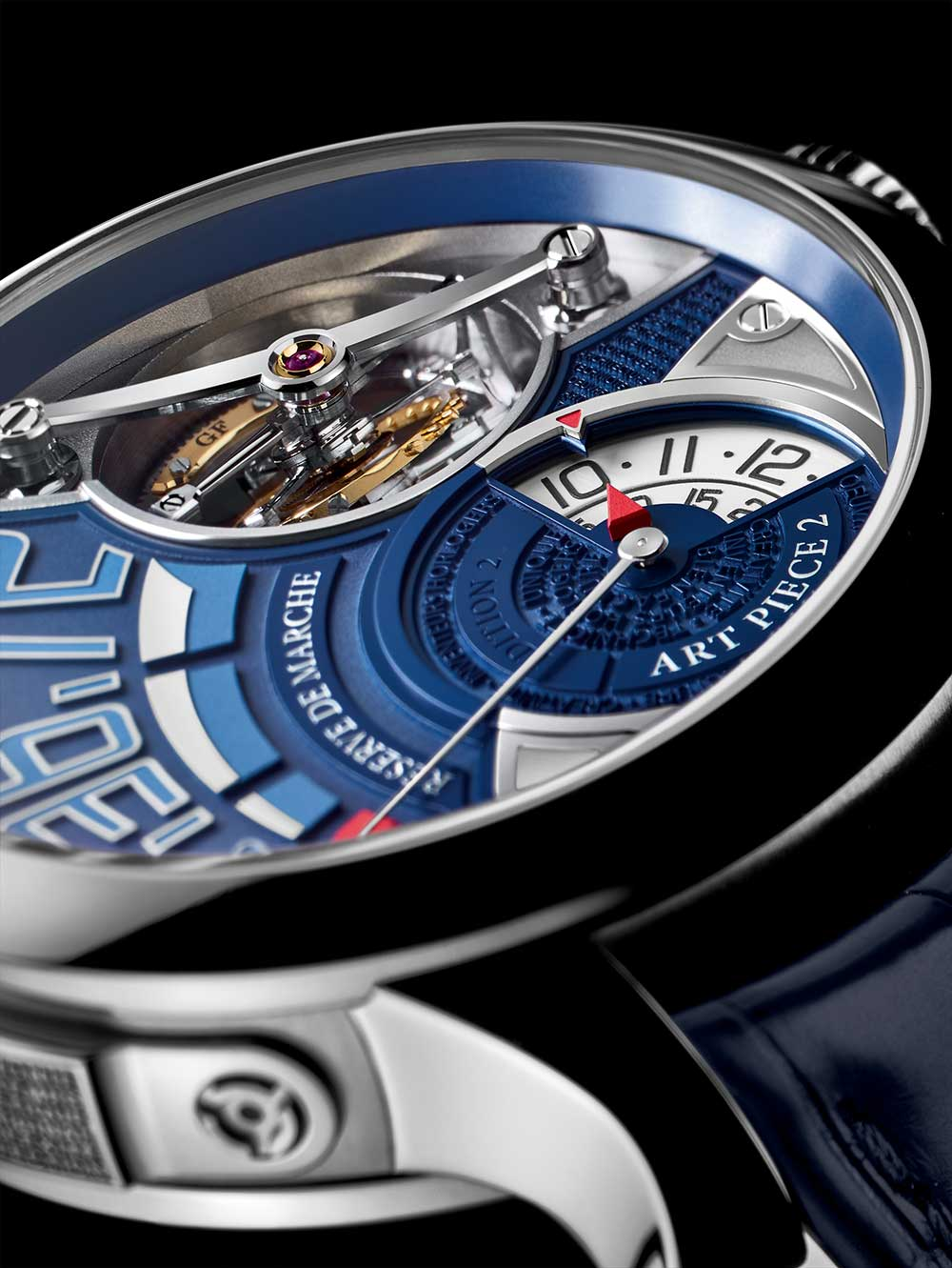 Greubel Forsey Art Piece 2 Edition 2, close-up
