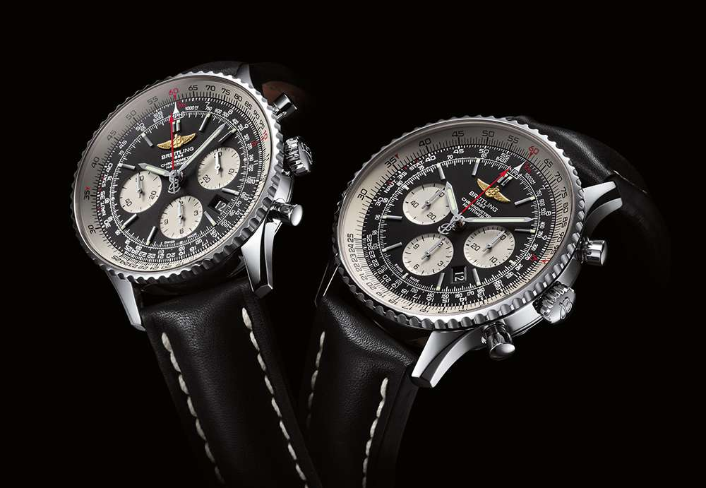 Breitling Navitimer 01 and the 46 mm version