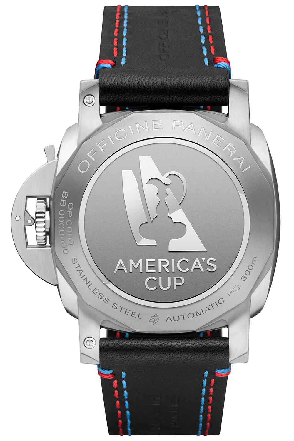 Panerai Luminor Marina 1950 America's Cup 3 Days Automatic Acciaio 44mm PAM00727 caseback