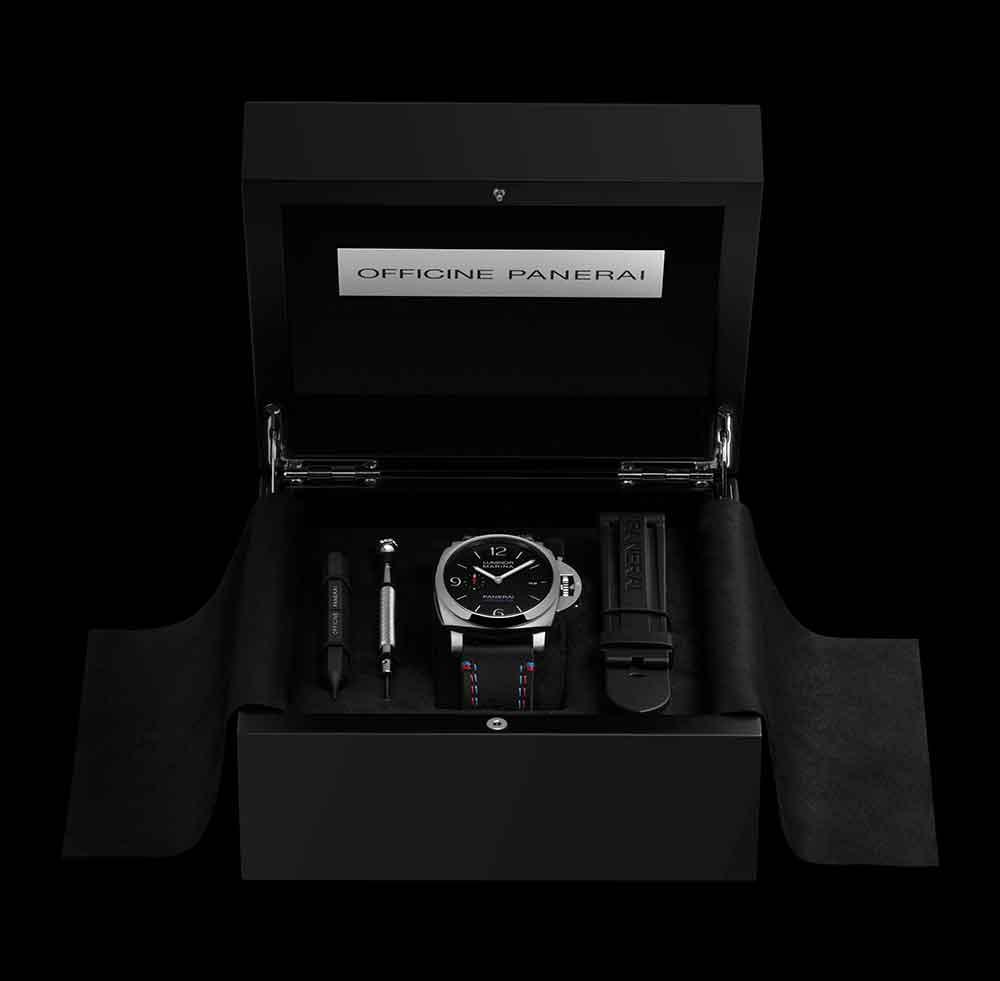 Panerai Luminor Marina 1950 America's Cup 3 Days Automatic Acciaio 44mm PAM00727 box