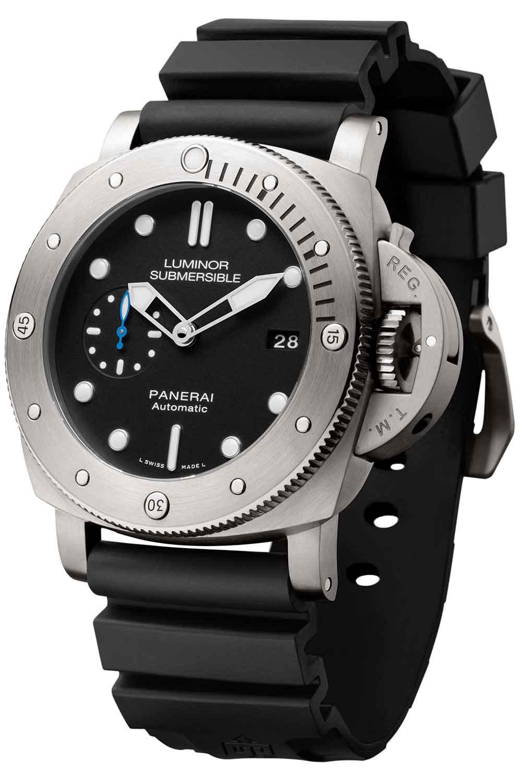 Panerai Submersible 1950 3 Days Automatic Titanio 47mm PAM01305