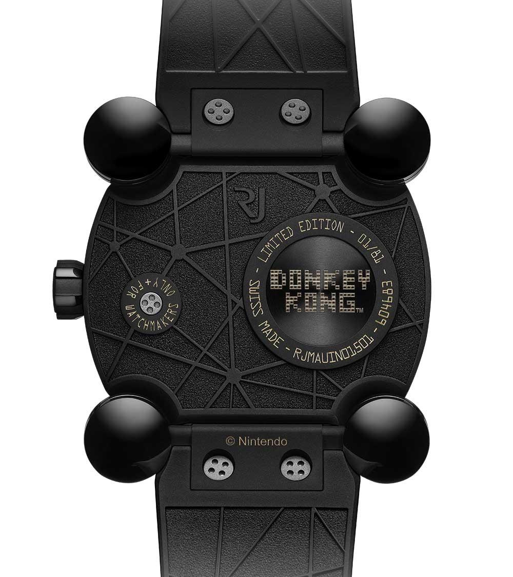 Romain Jerome RJ X Donkey Kong caseback