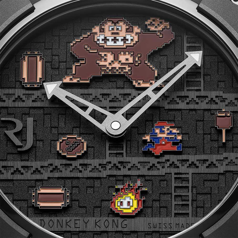 Romain Jerome RJ X Donkey Kong dial detail