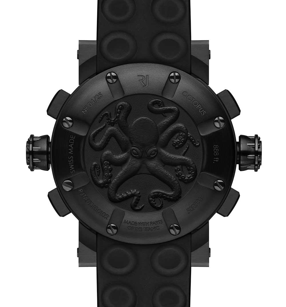 Romain Jerome Octopus Lume caseback
