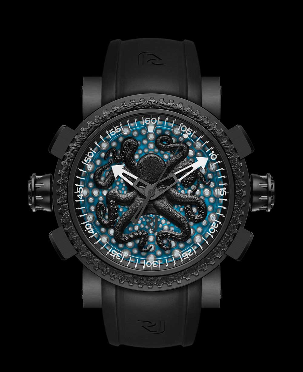 Romain Jerome Octopus Lume by day