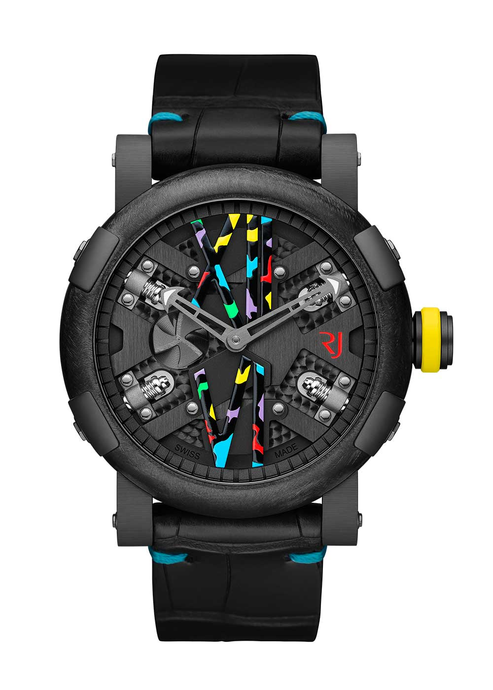 Romain Jerome Steampunk 46 Auto Camo Pop