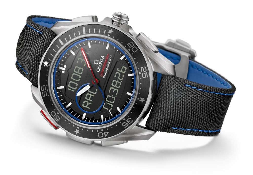 Omega Speedmaster X-33 Regatta ETNZ quartz watch