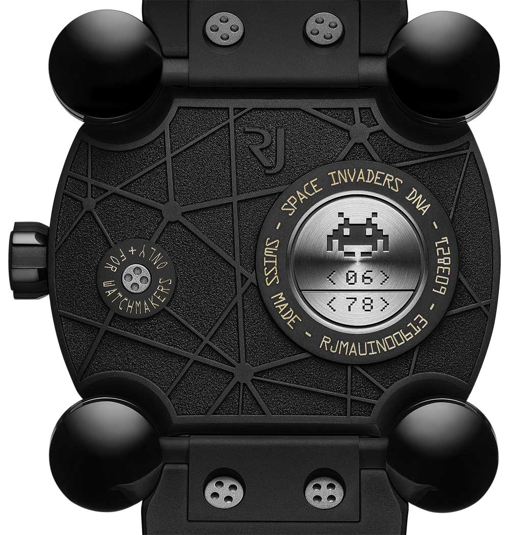 Romain Jerome Space Invaders Pop caseback