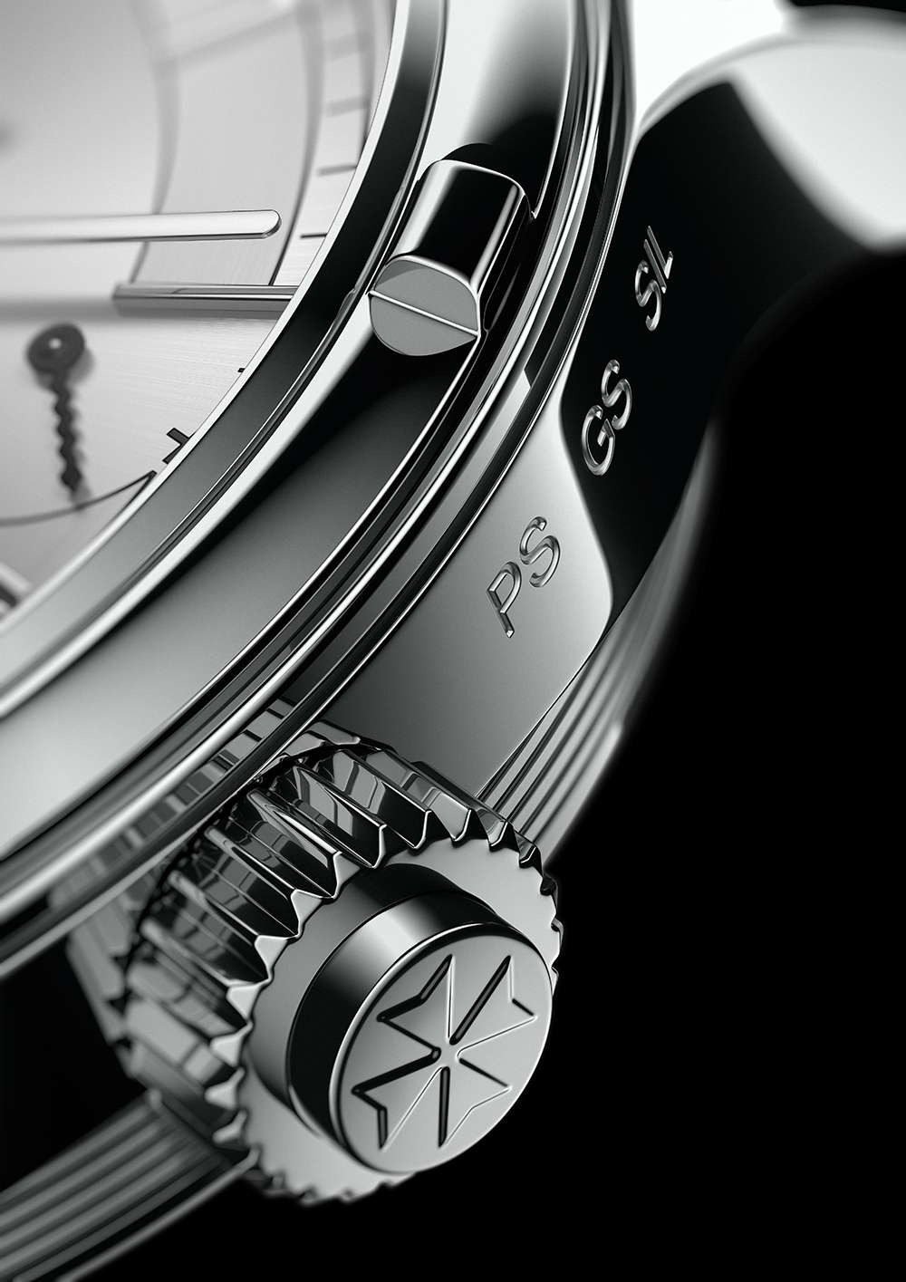 Vacheron Constantin Les Cabinotiers Symphonia Grande Sonnerie crown and pusher detail