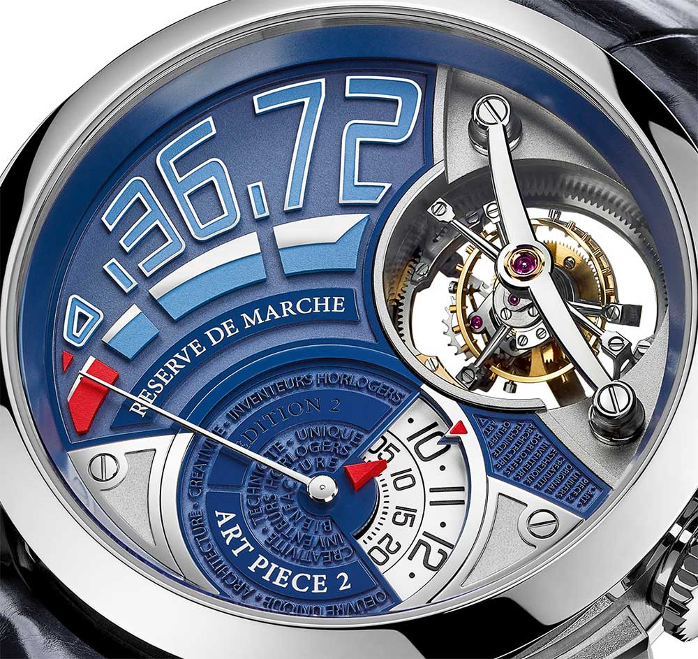 Greubel Forsey Art Piece 2 Edition 2, dial detail