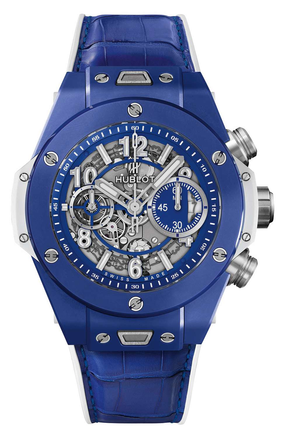 Hublot Big Bang Blue Time Transformed