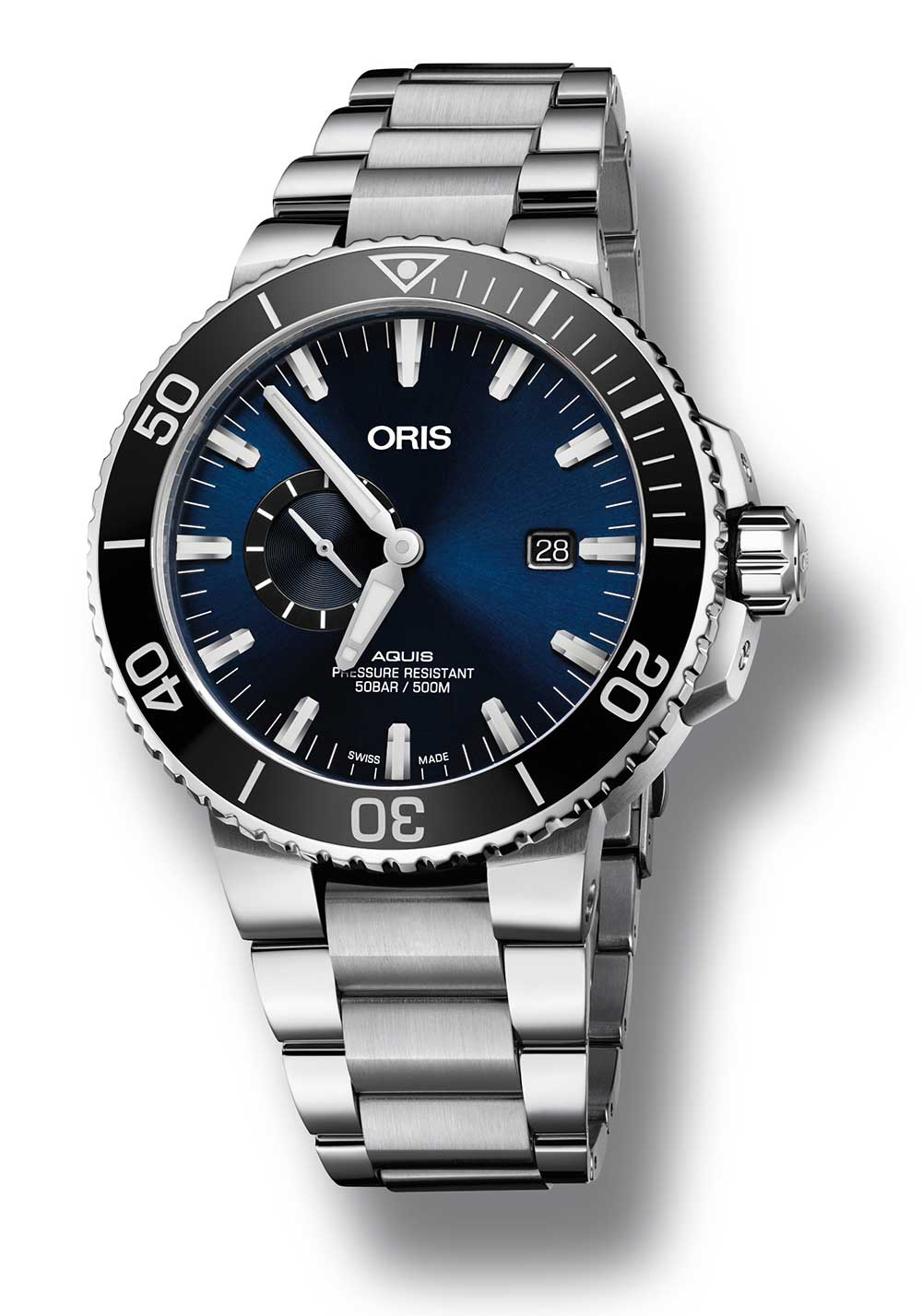 Oris Aquis Small Second Date Diver Ref. N° 01 743 7733 4135 RS, 45,50 mm