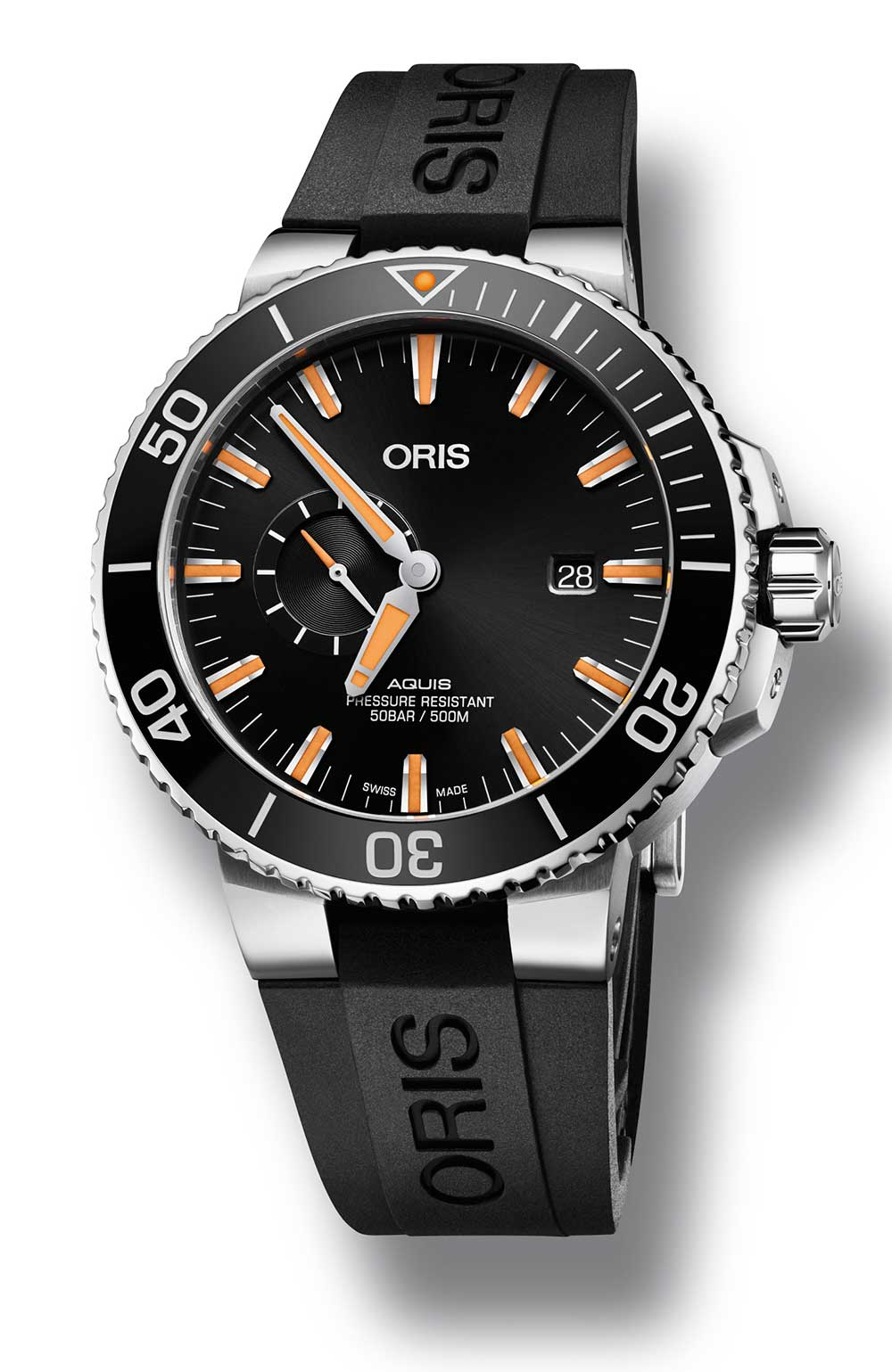 Oris Aquis Small Second Date Diver Ref. N° 01 743 7733 4159 RS, 45,50 mm
