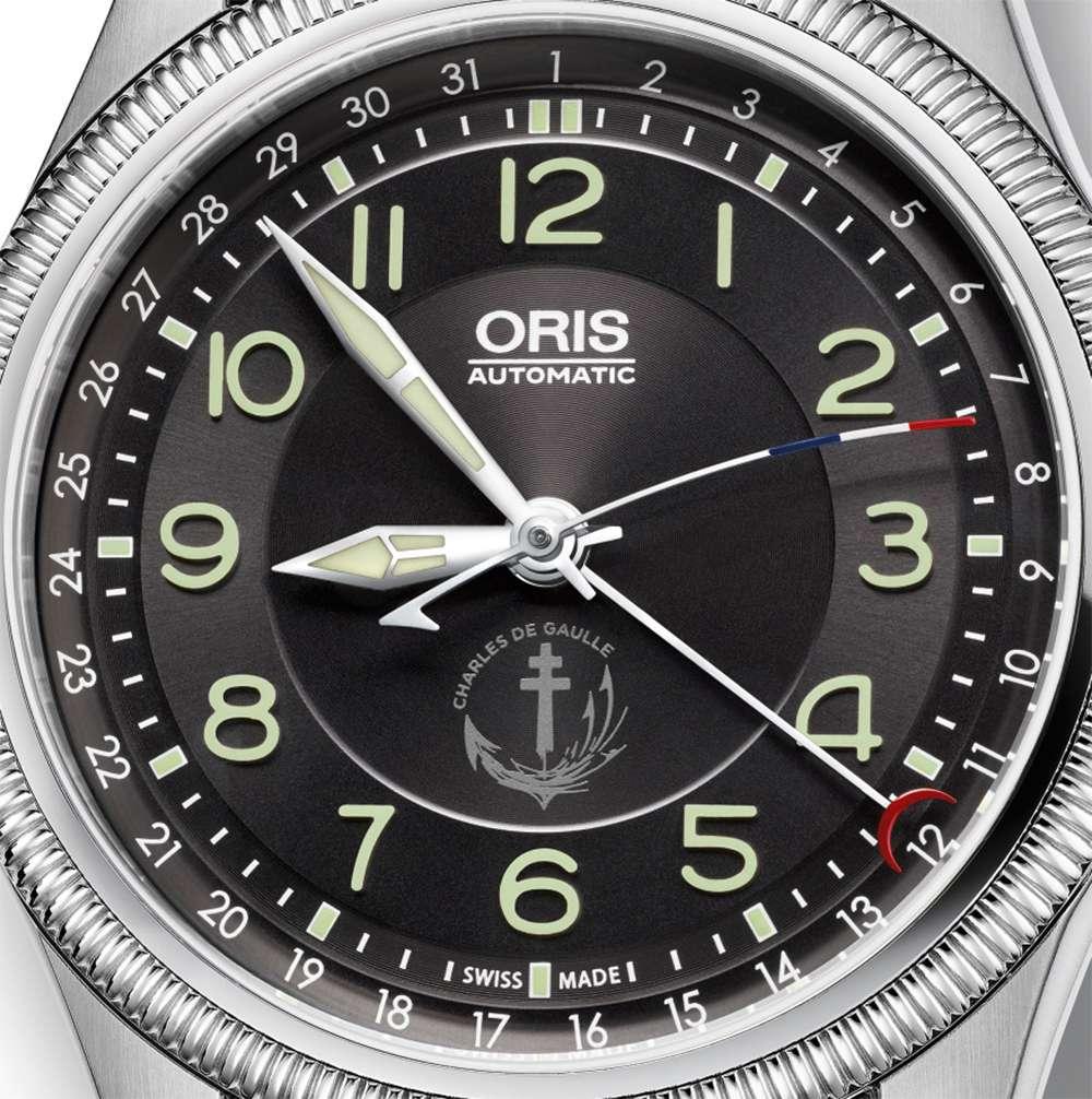 Oris Big Crown PA Charles de Gaulle Oris Limited Edition