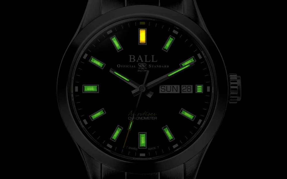 Engineer III Endurance 1917 by Ball Watch Co., tritium luminosity