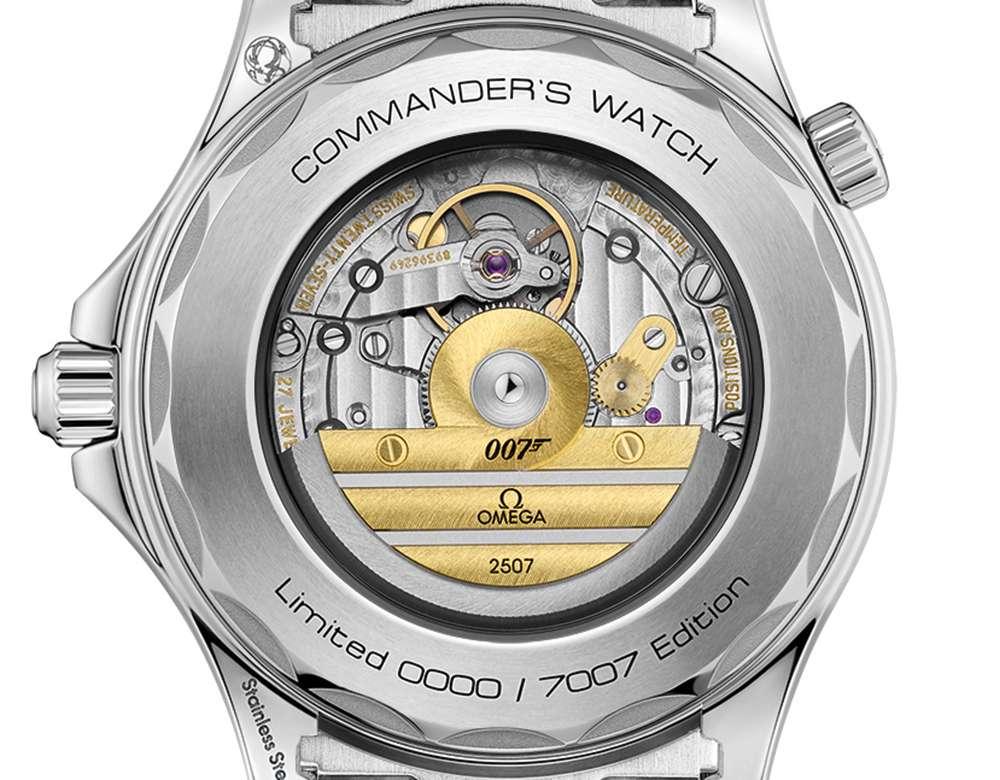 Omega Seamaster Diver 300M Commander's Watch caseback
