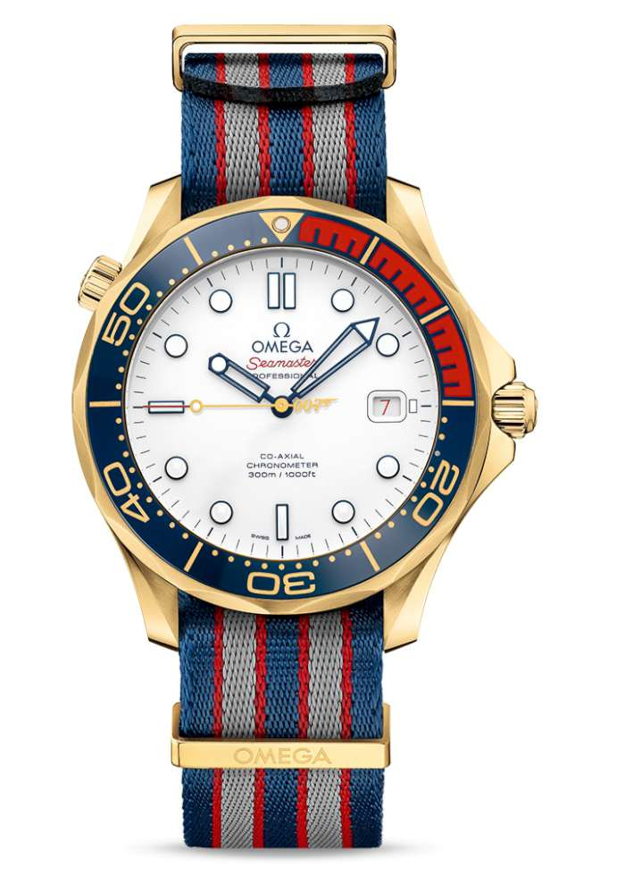 Omega Seamaster Diver 300M Commander's Watch 212.62.41.20.04.001