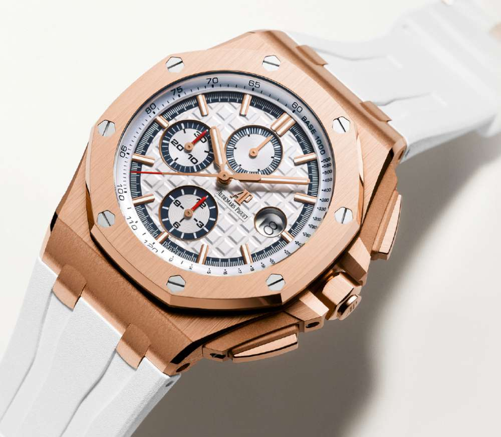 c09d3fce3fb Audemars Piguet Royal Oak Offshore Summer Edition 2017 men's - Time ...