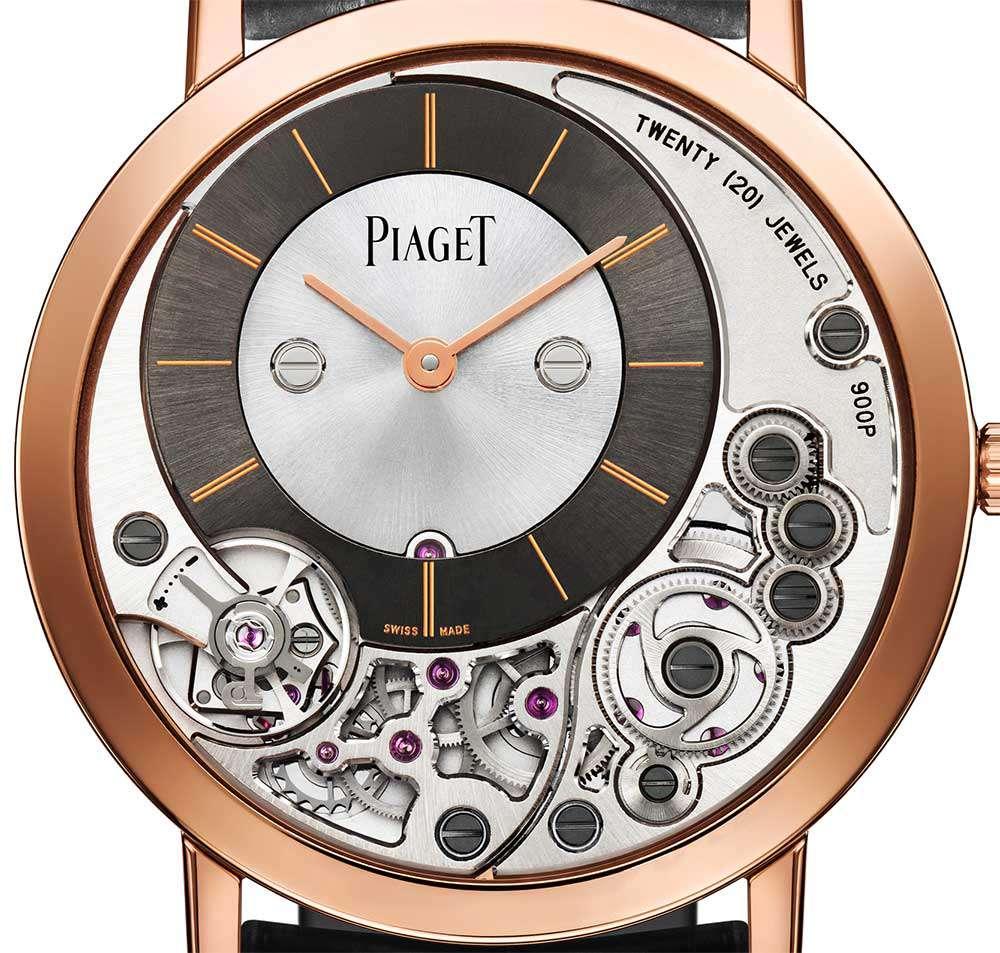 Piaget Altiplano 900P pink gold
